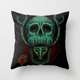 Poison Love Throw Pillow