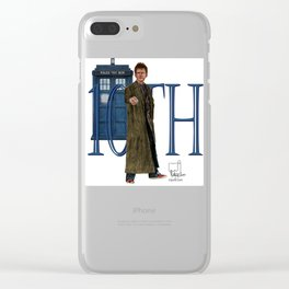 10th Doctor Clear iPhone Case