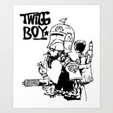 twigg boy (dark colors) Art Print