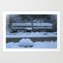 Winter Time Art Print