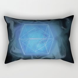 The Tesseract Rectangular Pillow