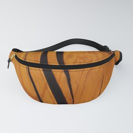 Rustic wooden texture pattern Fanny Pack