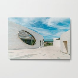 Champalimaud Foundation Centre For The Unknown, Wall Art Print, Modern Architecture Art Metal Print