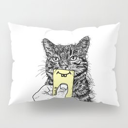 happy CATurday Pillow Sham