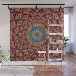 Manda Pattern Wall Mural