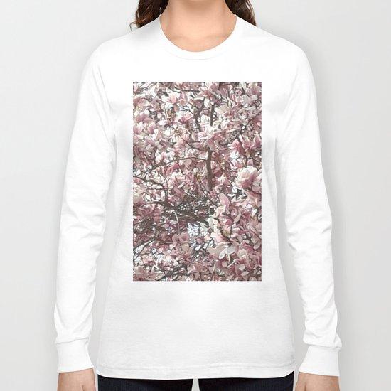 Magnolia Blossoms Long Sleeve T-shirt
