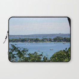 Harbor Springs Bay, View from Bluff (2) Laptop Sleeve