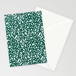 Deep Emrald #pattern #illutsration Stationery Cards