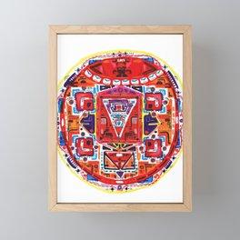 Muladhara Root Chakra Framed Mini Art Print