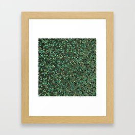 A Glitch in the System Framed Art Print