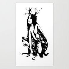 satyr Art Print