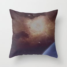 Star formation Throw Pillow
