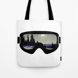 Morning Goggles Tote Bag