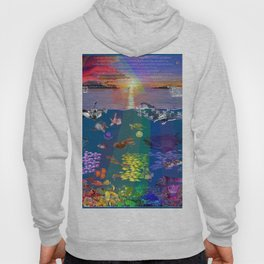 ...and the monstrous creatures of whales [full] Hoody