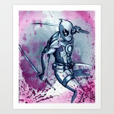 The Merc with the Mouth.  Art Print