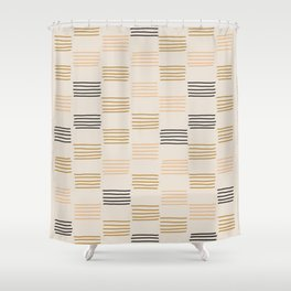 hatches –small Shower Curtain