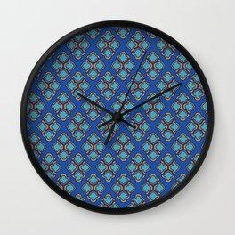 Middle Eastern Pattern Wall Clock