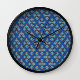 Middle Eastern Pattern Wall Clock