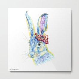 Forest Animals series - Rabbit Metal Print