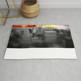 New York on Fire Rug