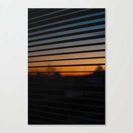 Sunset Patterns Canvas Print