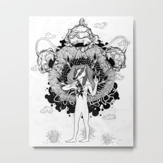 Groundwalker Metal Print