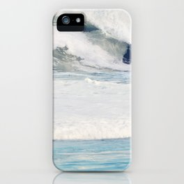Falling Ocean Waves iPhone Case