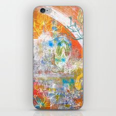 Collage de Mudra iPhone & iPod Skin