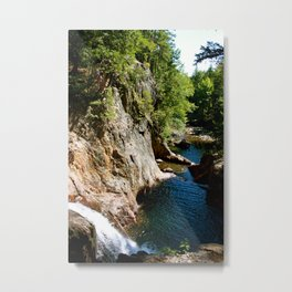 Rangeley, ME Smalls Falls Metal Print