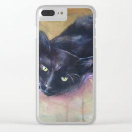 Huey Clear iPhone Case