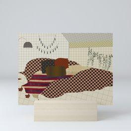 secrets and lies of a room Mini Art Print