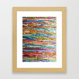 Rainbow Mosaic Framed Art Print