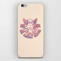 sylveon iPhone & iPod Skins featuring All Hail Sylveon by Solis