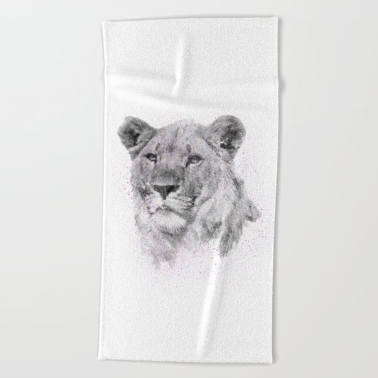 Leo Just Wants To Have Fun Beach Towel