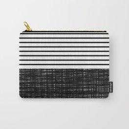 platno (black stripes) Carry-All Pouch