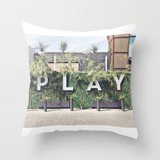 P L A Y  Throw Pillow