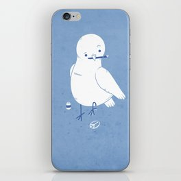 Peaceful painting iPhone Skin