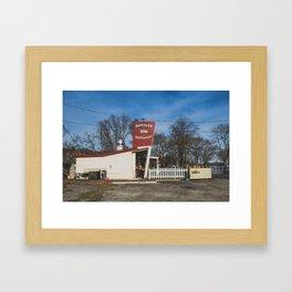 Mumbles BBQ Framed Art Print