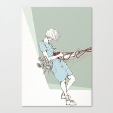 Guts are messy  Canvas Print