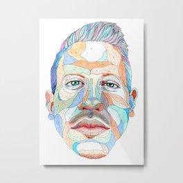 Macklemore Metal Print