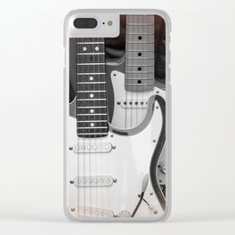 Two Strats Clear iPhone Case