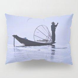 FISHERMAN AT INLE LAKE II Pillow Sham