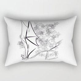 The Happy Dragon Rectangular Pillow