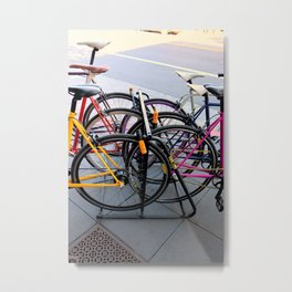 Parallel Parking Shuffle Metal Print