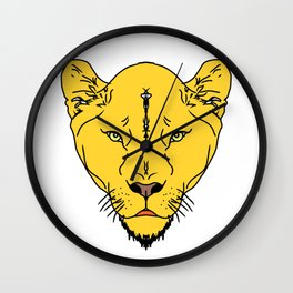 Lion Vector Art and Graphics / GFTLion001 Wall Clock