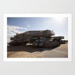1458. Crawler-Transporter No. 2 Art Print
