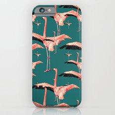 tropical flamingos  iPhone 6s Slim Case