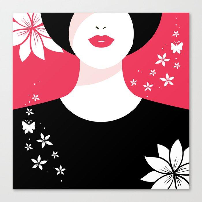 True Lady Canvas Print