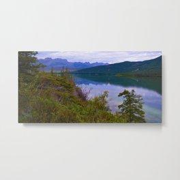 Edna Lake in Jasper National Park, Canada Metal Print