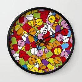 Lots of Pills Wall Clock